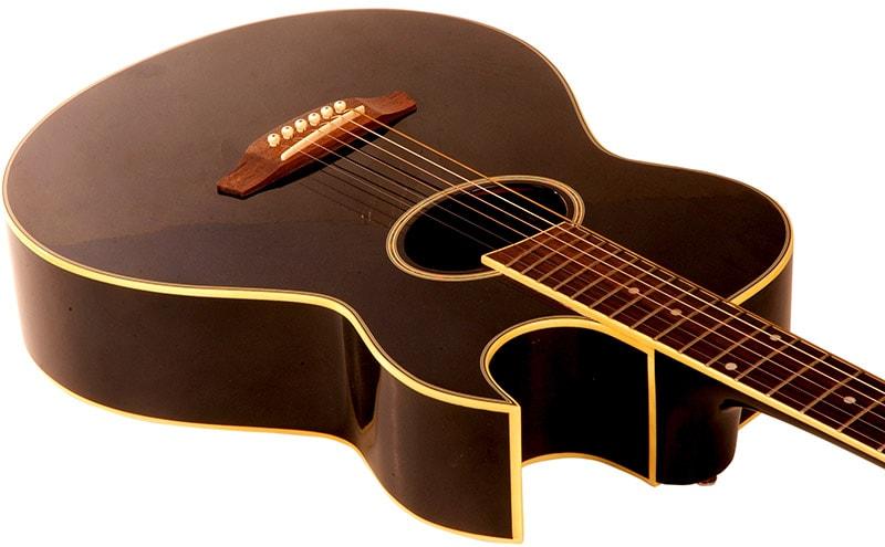 Corpo do violão - Caixa acústica