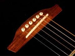 Nome das partes do violão - Destaque