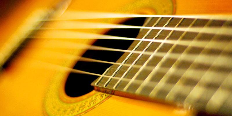 Formação de acordes - Representação no braço do violão.