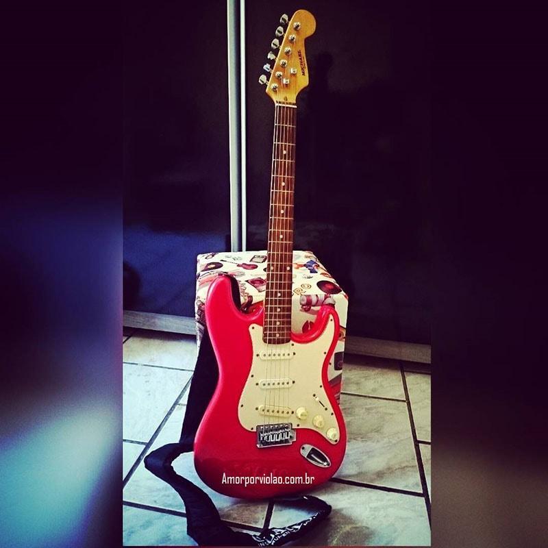 Minha primeira guitarra