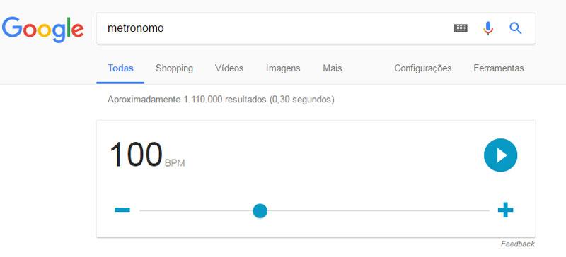 Tipos de Metrônomo - Google